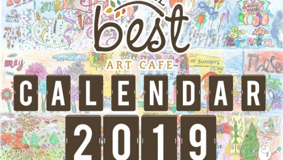 Level Best Art Cafe Calendar 2019 out NOW!