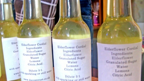 Elderflower Cordial from Level Best Art Cafe